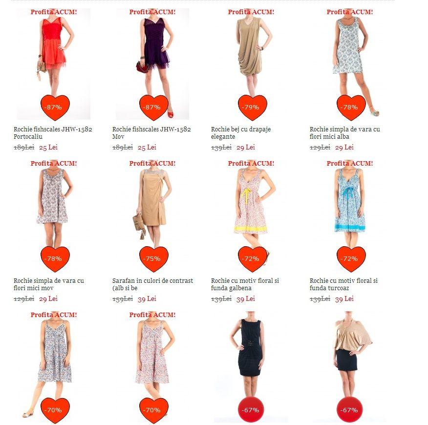 rochii de vara ieftine
