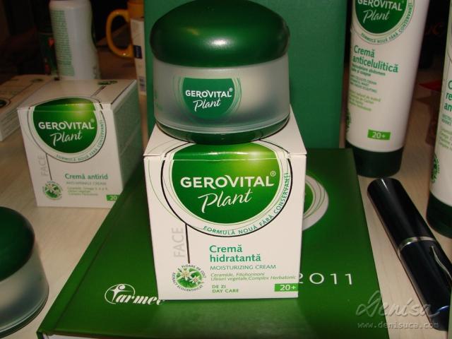 Crema hidratanta Gerovital Plant