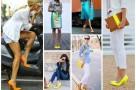 pantofi in culori neon